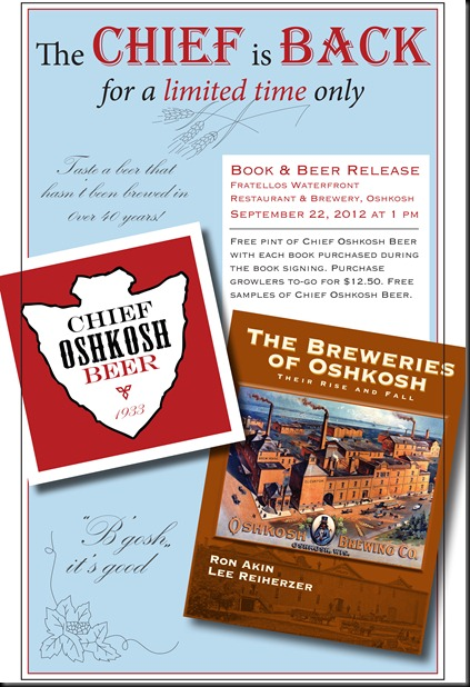 Breweries of Oshkosh and Chief Oshkosh Poster 9
