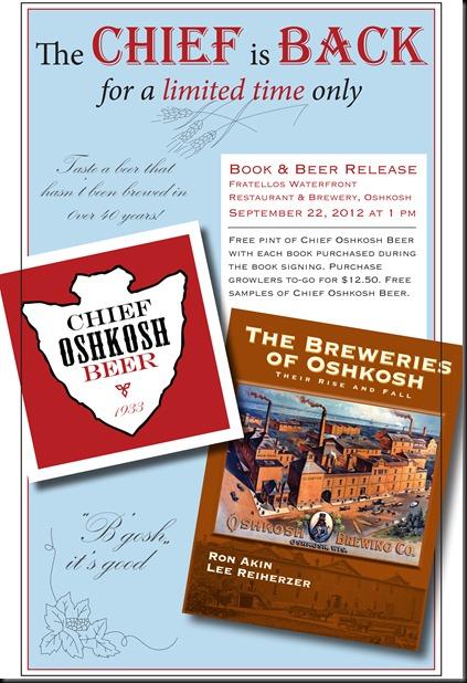 Breweries of Oshkosh and Chief Oshkosh Poster 9