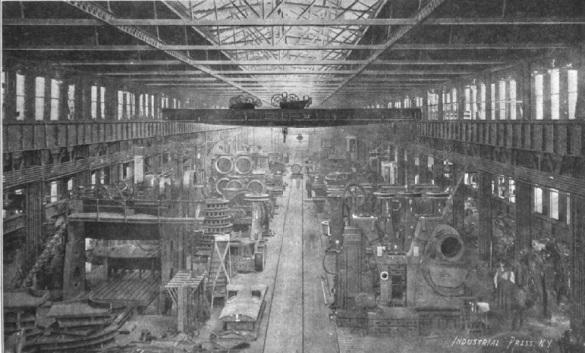 Inside Machine Shop No. 1
