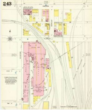 (North End of Reliance Works)From the American Geographical Society Library, University of Wisconsin-Milwaukee Libraries.