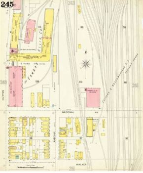 (South End of Reliance Works)From the American Geographical Society Library, University of Wisconsin-Milwaukee Libraries.