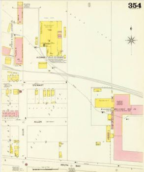 (Reliance Works Foundry)From the American Geographical Society Library, University of Wisconsin-Milwaukee Libraries.
