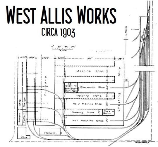 West Allis Works Layout