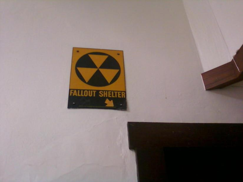 Fallout Shelter at UW-Oshkosh