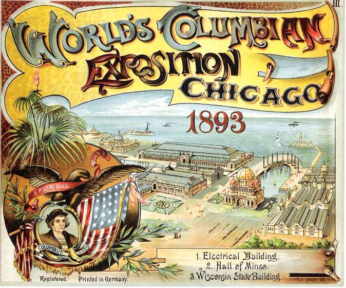 1893 Columbian Exposition Poster(Chuckman's Collection)