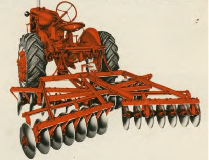 Allis-Chalmers CA and Snap-Coupler Disk