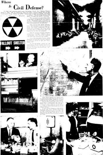 Winnebago County Civil Defense Article(Newspaper Archive)