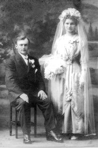 Great grandparents wedding