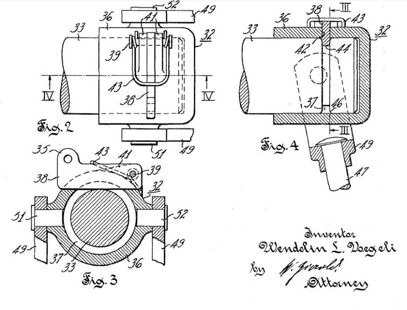 Voegeli Hitching Patent