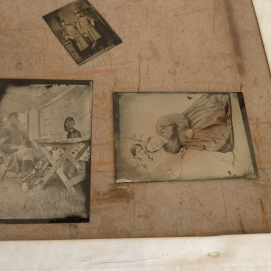 Pictures (glass plate & tintype)