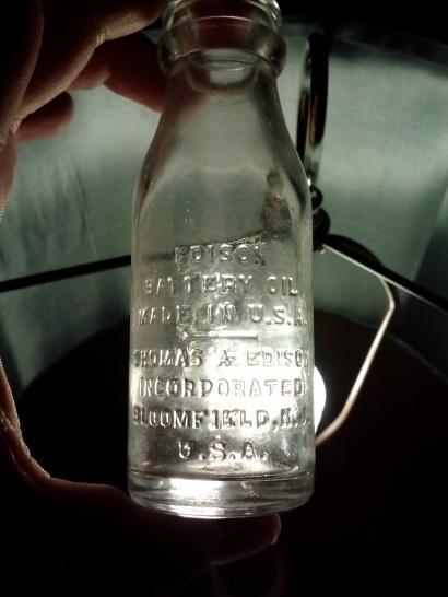 Edison Battery Oil