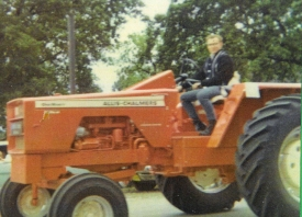 Tom Wilde in June Dairy Days Parade