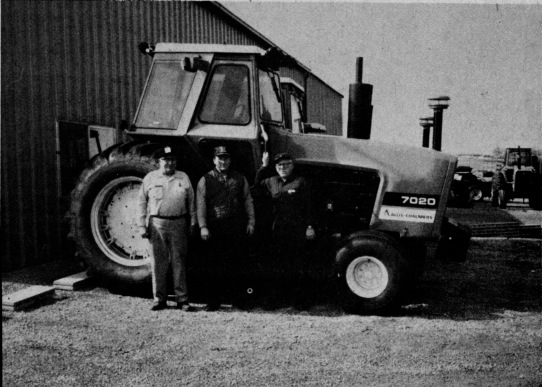 (Left to Right) Leslie, Tom, and Raymond Wilde