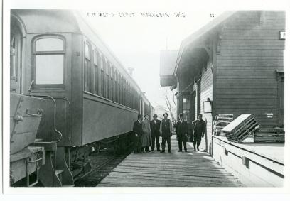 Passengers Waiting On Platform