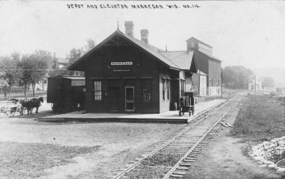 Train Depot Looking East