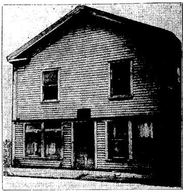First Courthouse in Winnebago County-1849