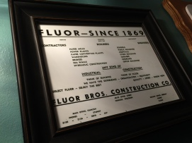 Fluor Bros Construction advertisement