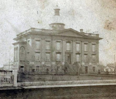 Courthouse circa 1865 (Courtesy of Dan Radig)