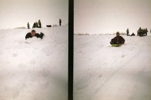 Frederick Family Sledding