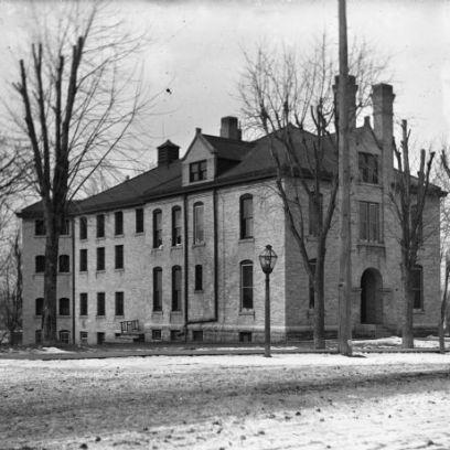 Dodge County Jail, Juneau, Wisconsin Circa 1900