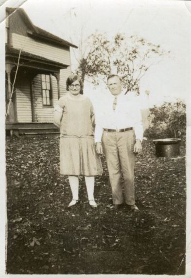 Great-Grandma Ella & Grandpa Arthur