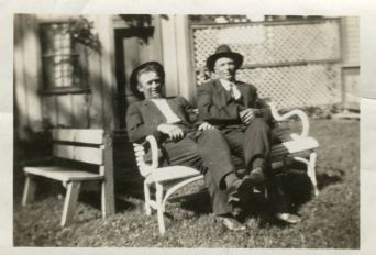 Great-Grandpa Arthur (Left) and Great-Granduncle William Frederick